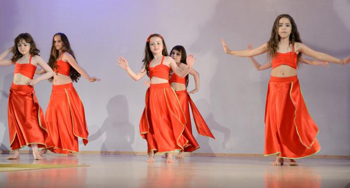 Восточные танцы для детей