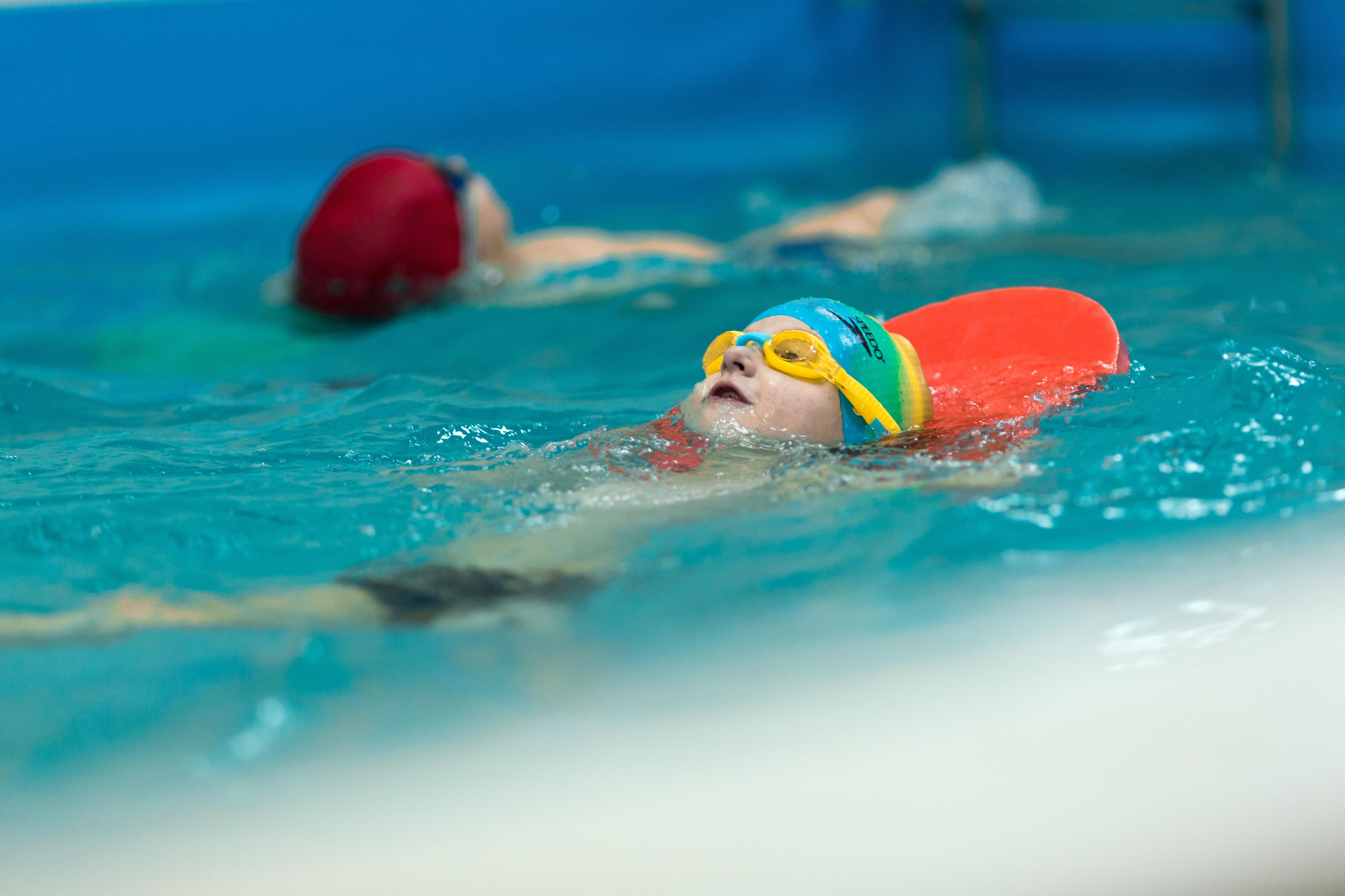 плавание от3х до 8лет